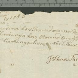 Document, 1783 September 06