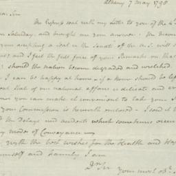 Document, 1798 May 07