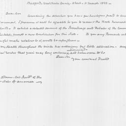 Document, 1822 March 11