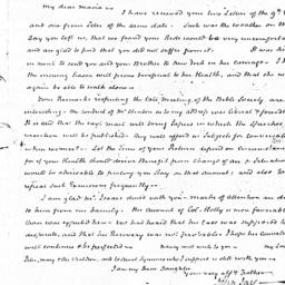 Document, 1823 May 13