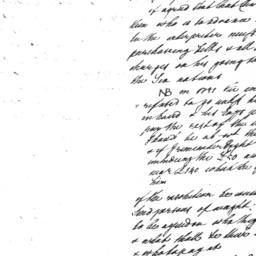 Document, 1751 January n.d.