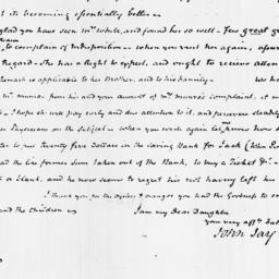 Document, 1822 April 02